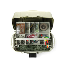 Box With Fishing Tackle On Whi...