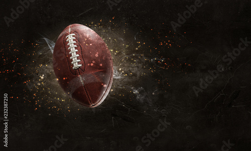 Photographie American football game