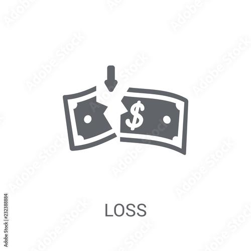 Fotografia  Loss icon