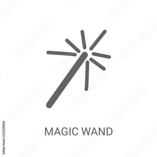 Fotografie, Obraz  Magic wand icon