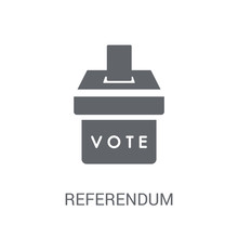 Referendum Icon. Trendy Refere...
