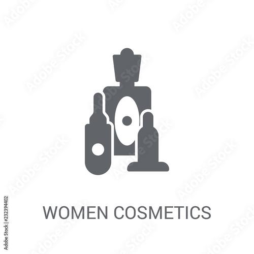 Fotografie, Obraz  Women Cosmetics icon