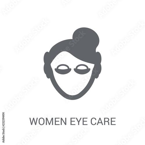 Obraz na plátně  Women Eye Care icon