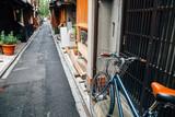 Fototapeta Uliczki - Pontocho, Japanese old restaurant and pub alley in Kyoto, Japan
