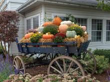 Fall Festival In A Wagon