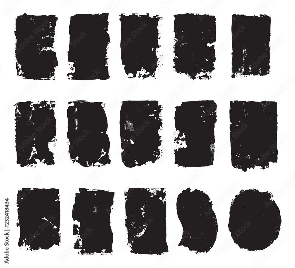 Fototapety, obrazy: Screen Print Ink Pulls
