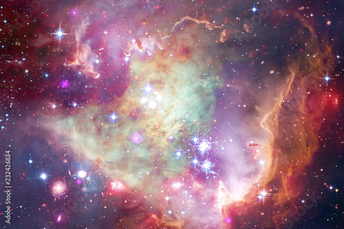 Foto op Plexiglas Heelal Awesome galaxy in outer space. Starfields of endless cosmos.