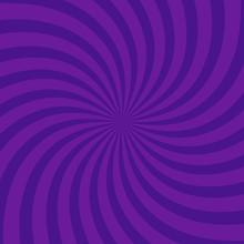 Swirling Radial Bright Purple ...