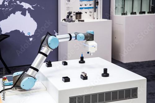 Photo  Universal robots arms