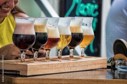 Spoed Foto op Canvas Bier / Cider Biersorten