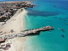 The Pier At Cape Verde Aerial ...