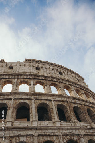 Spoed Foto op Canvas Rome Colosseum in Rome. Italy
