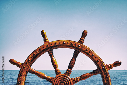 Fotografía  Steering wheel ship