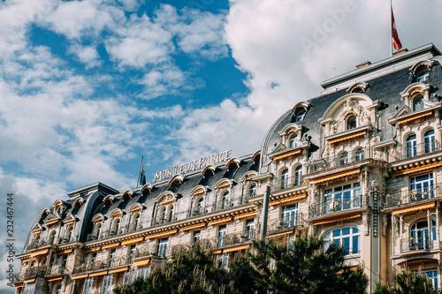 Fotografía A hotel in Montreux, Switzerland