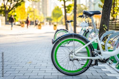 Photo  Rental Bikes in Seoul, South Korea