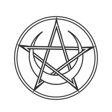 Vector For Wiccan And Occult E...