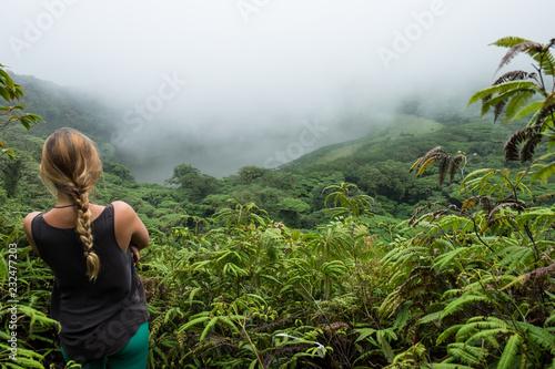 Obraz na płótnie on the top of Maderas volcano