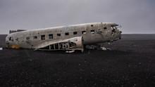 Plane Wreck At The Beach