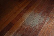 Old Scratched Hardwood Floorin...