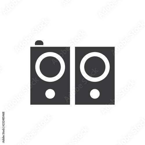Fotografía  Stereo speakers vector icon