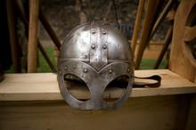 A Viking Helmet.
