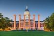 canvas print picture - Columbia, Missouri, USA historic campus