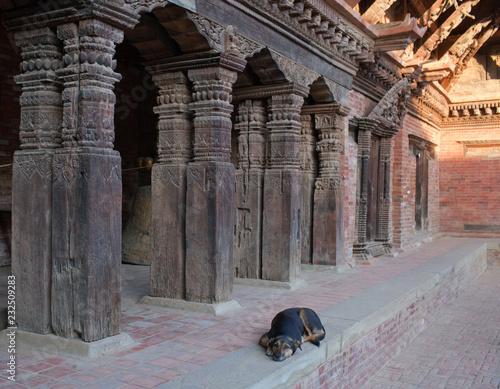 Staande foto Asia land Royal palace in Patan, Kathmandu valley, Nepal