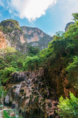Tropical paradise of Tolantongo, Mexico