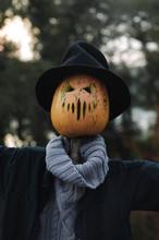 Scarecrow Halloween Decoration