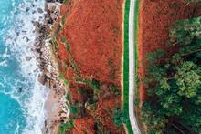 Cliffs Aerial View