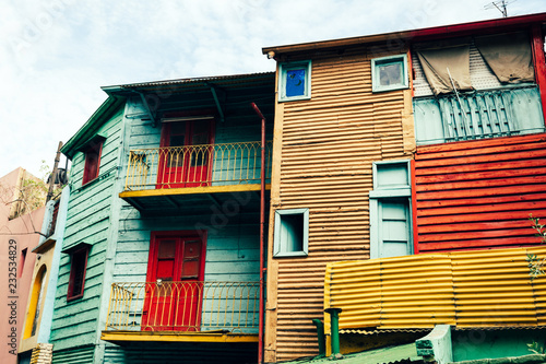 Colorful La Boca Structures
