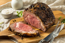Roasted Boneless Prime Beef Rib Roast