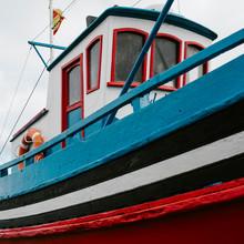 Colorful Painted Boat Beak