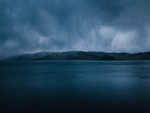 Storm Clouds Above Tolbo Nuur ...