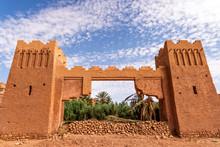 Ait Benhaddou Entrance, Morocco