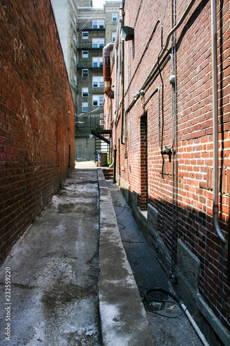 urban back alley