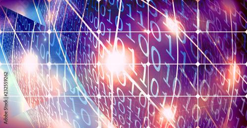 Sistema numerico binario, progetto grafico.