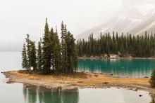 Beautiful Lake On A Cloudy Day