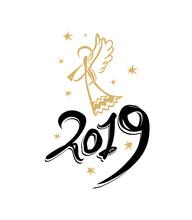 Handwritten 2019 And Golden An...