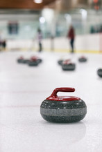 Curling: Thrown Rock Waits At ...