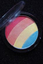 Rainbow Highlighter Or Eyeshadow Palette