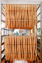 Appetizing Sausages Ready For Sale