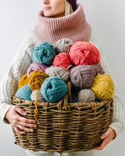 Woman With Yarn