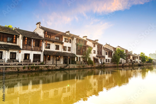 Foto  Historic scenic old town Wuzhen, China