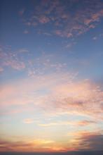 A Vibrant Autumn Sunset