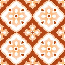 Tile Pattern Design Vector