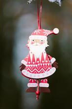 A Santa Claus Xmas Decoration ...