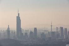 Nanjing, China. Severe Air Pol...