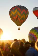 Hot Air Balloon Raising