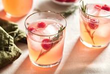 Fresh Cocktails In Rocks.